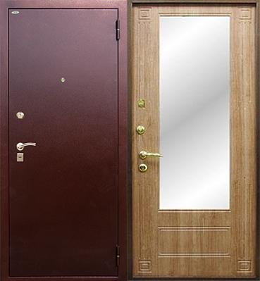 тамбурная железная дверь железнодорожный
